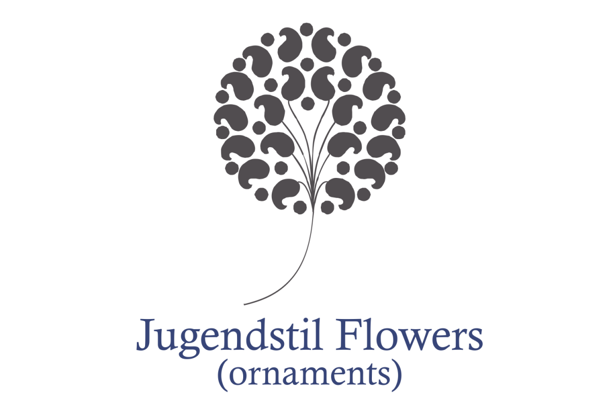 Jugendstil Flowers (family pack) example image 1