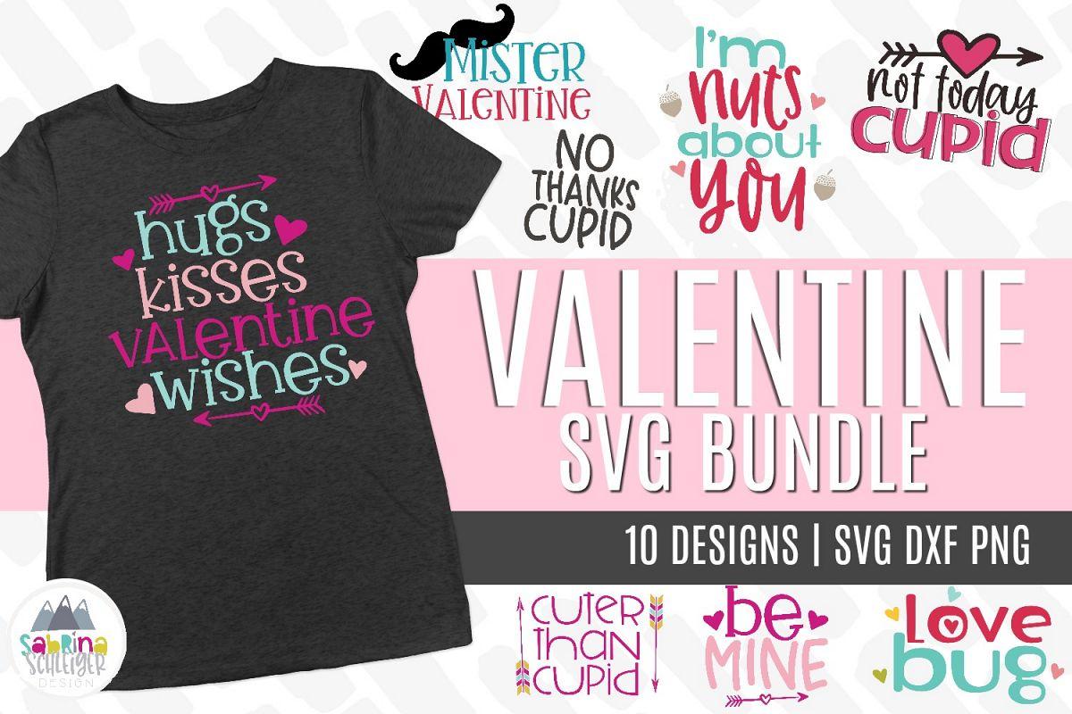 Valentine SVG Bundle example image 1
