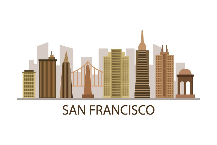 Skyline san francisco example image 1