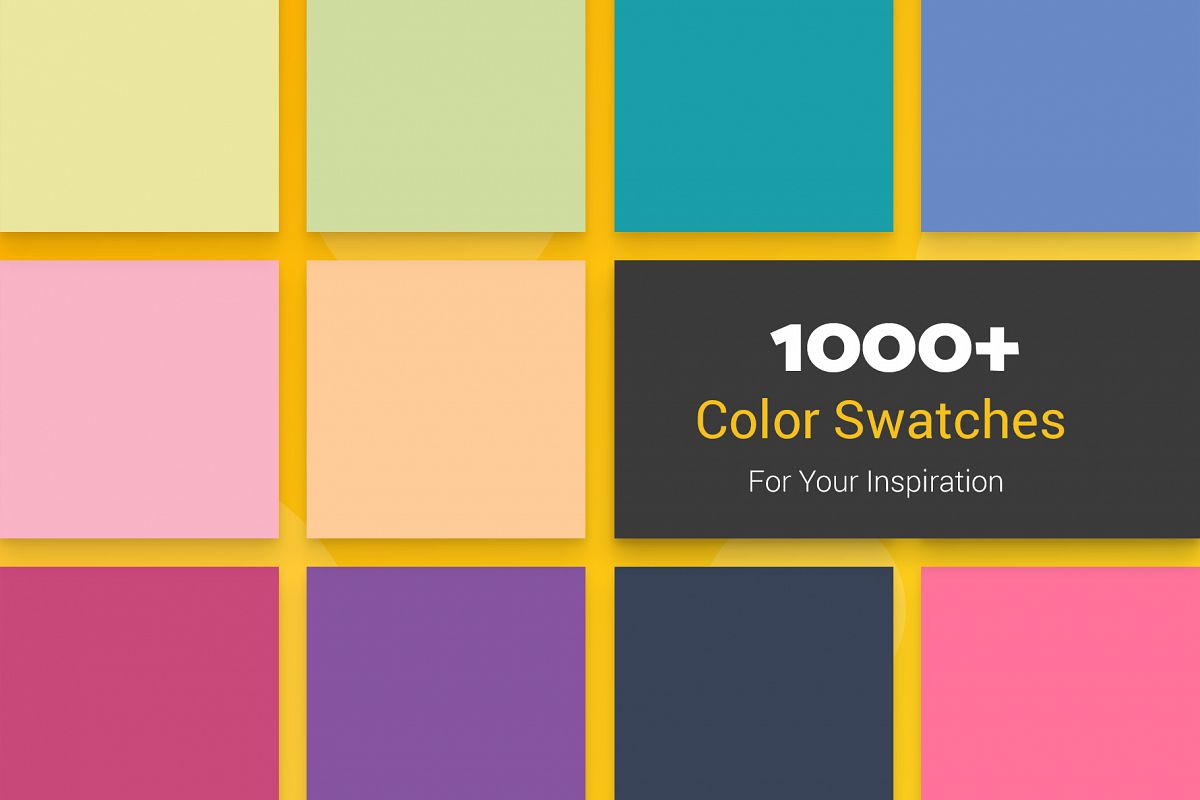 1000 Color Swatches For Your Inspiration example image 1