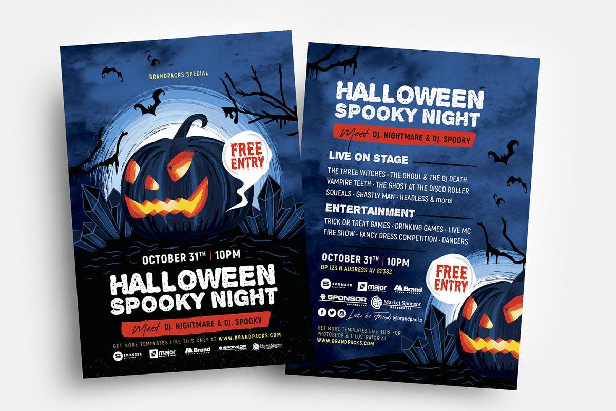 Halloween Flyer Templates example image 1