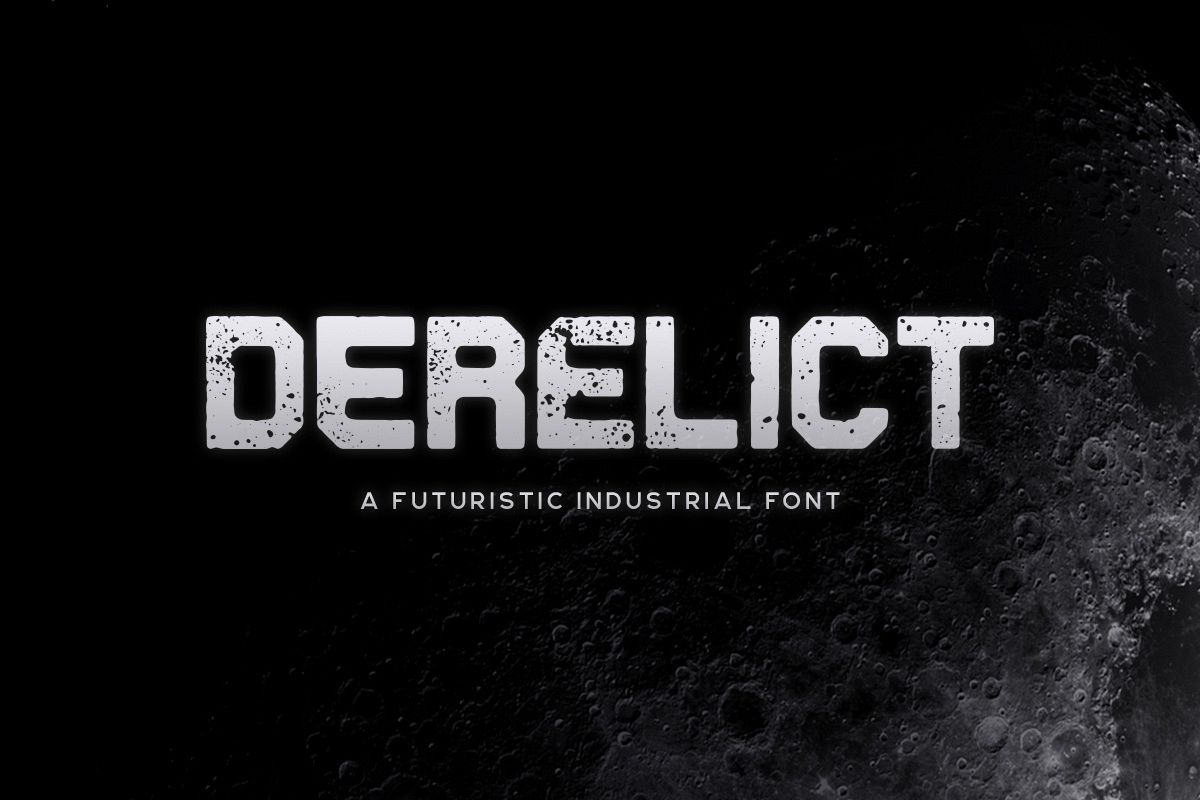 Derelict Typeface example image 1