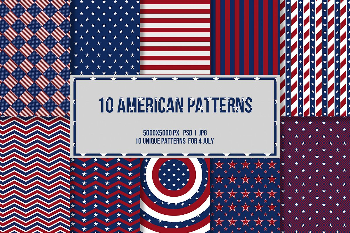 4 July 10 American Patterns example image 1