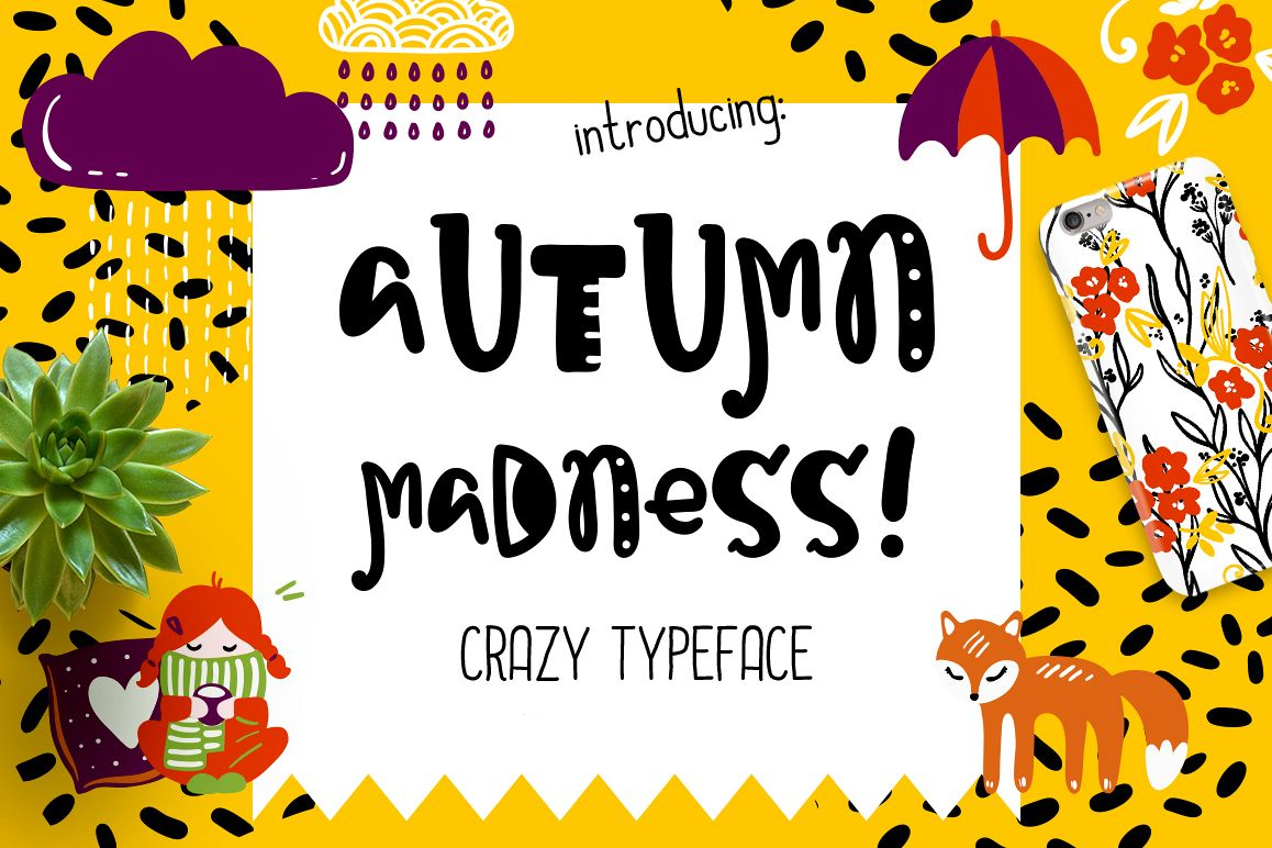 Autumn Madness Typefase example image 1
