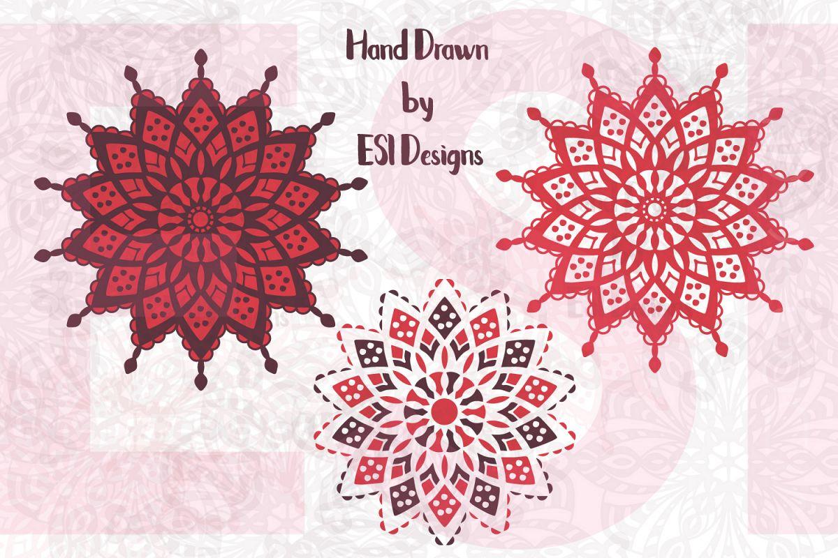 Mandala Designs Set 2 example image 1