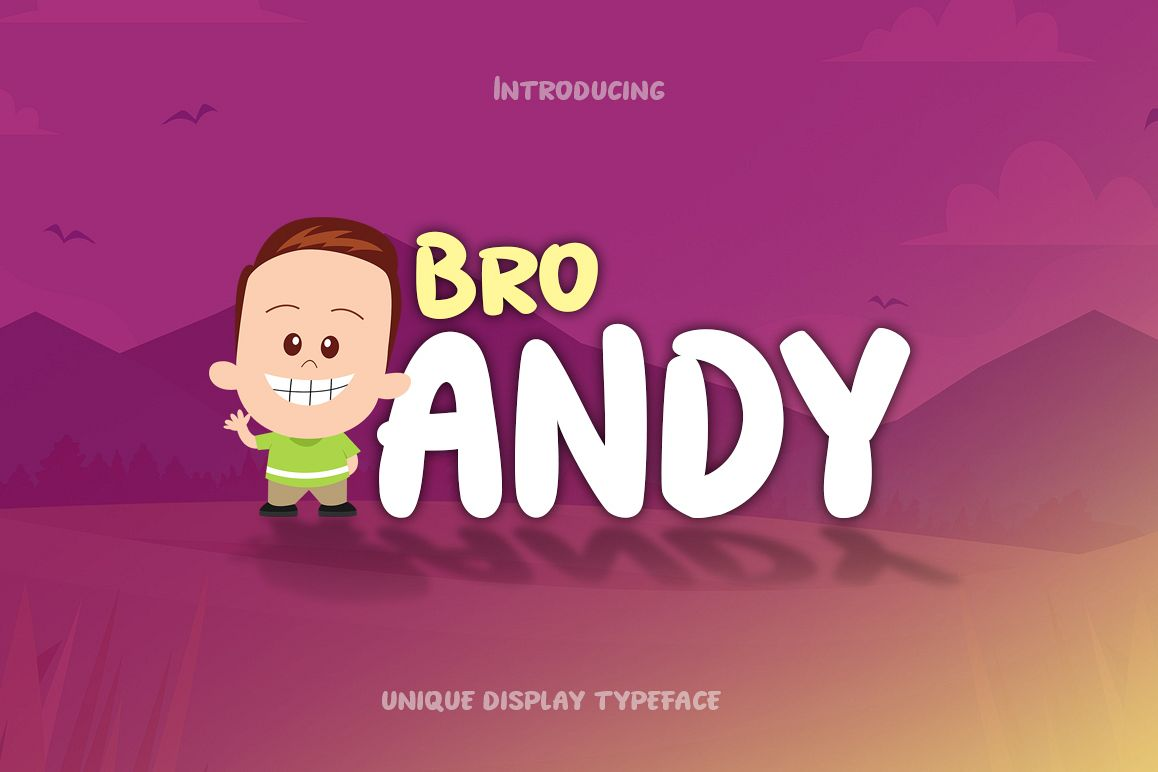 Bro Andy example image 1
