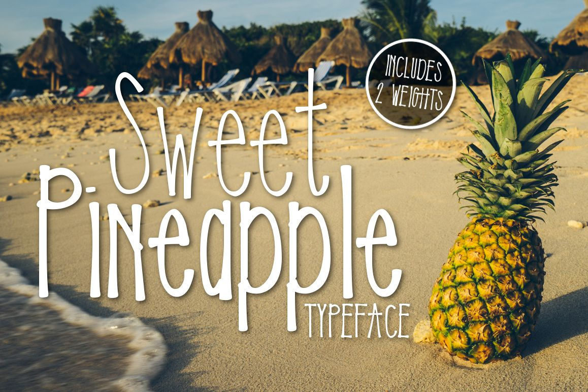 Sweet Pineapple Typeface example image 1