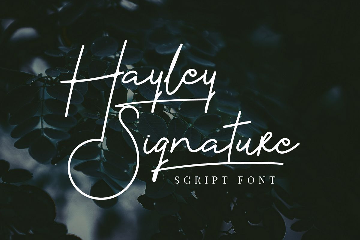 Hayley Signature example image 1