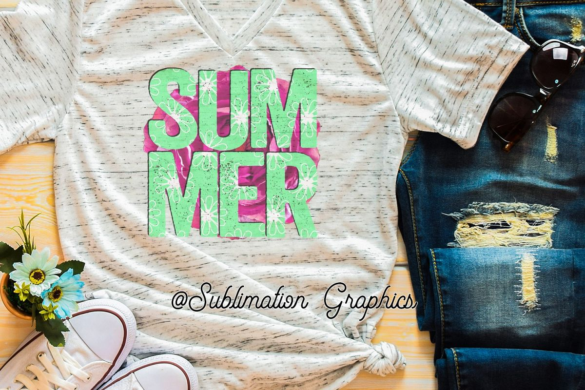 Summer Sublimation PNG example image 1