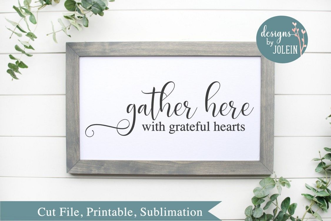 Gather Here SVG, png, eps, sublimation, printable example image 1
