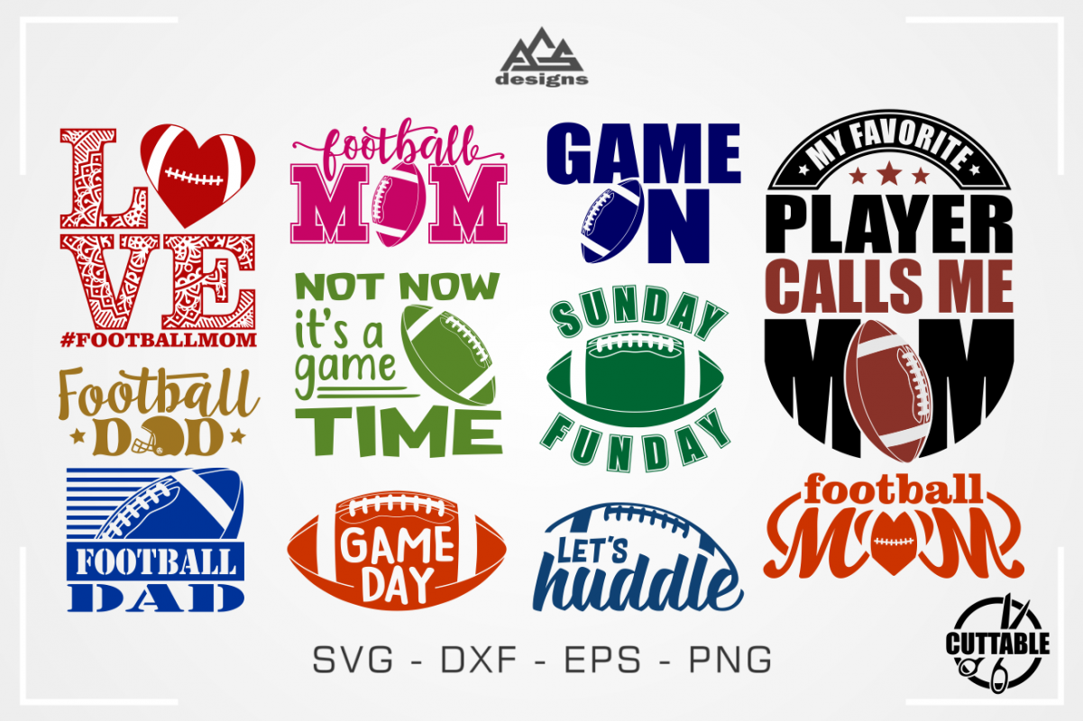 Football Mom American Football Quotes Svg Design