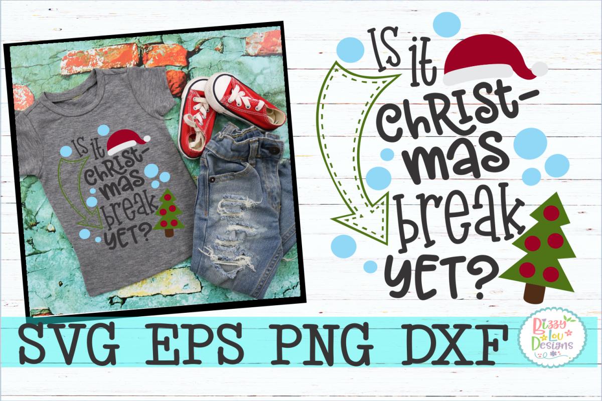 Is it Christmas Break yet? s example image 1