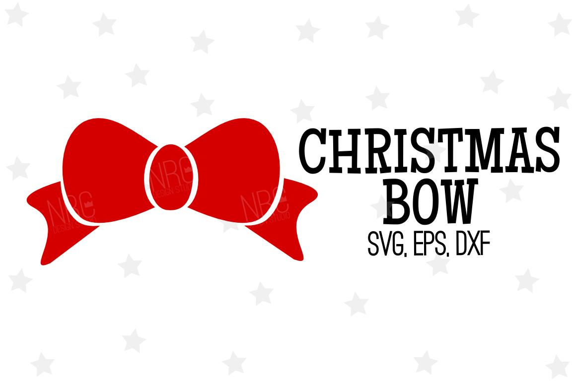 Christmas Bow Svg.Christmas Bow Svg File