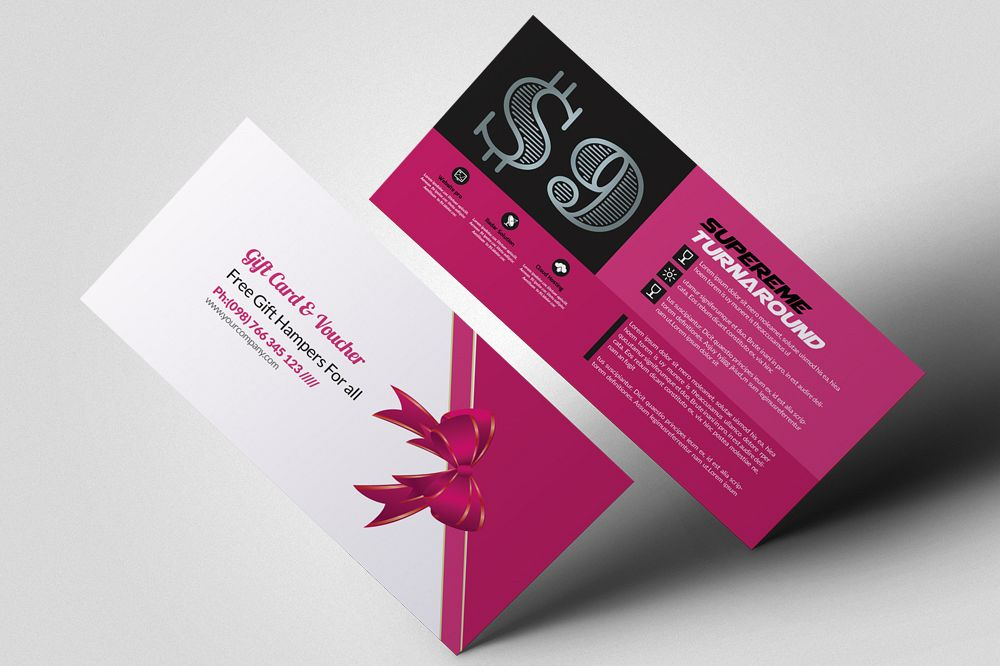 Multi Use Business Gift Vouchers example image 1