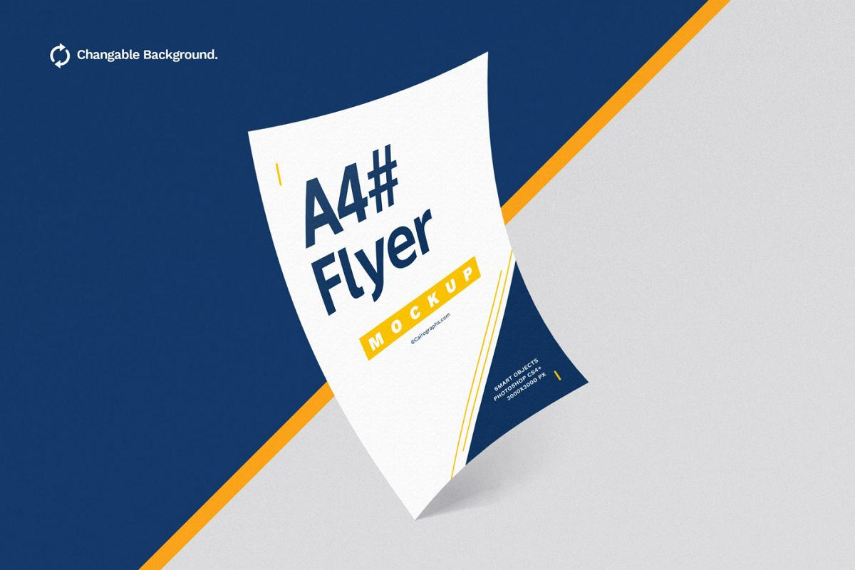 Posters & Flyers Mockups Vol.3 example image 1