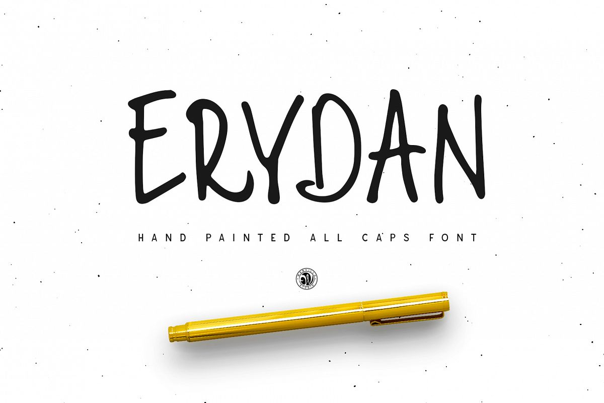 Erydan Font example image 1