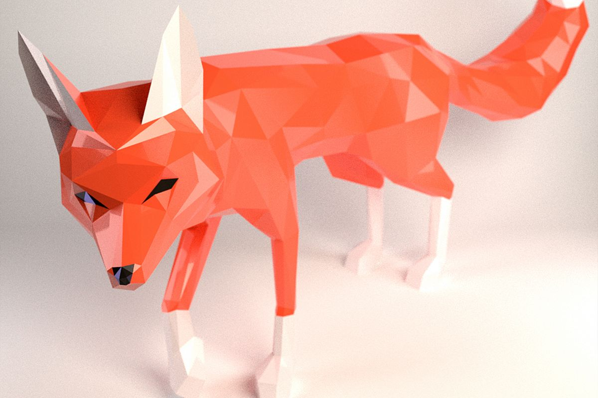 DIY Fox Papercraft, Red Fox, Fox Tail, Fox and Dogs, Fox Sculpture, Animal Trophy, Paper Animals, Home Decor, 3D origami, wild nature, foxy example image 1