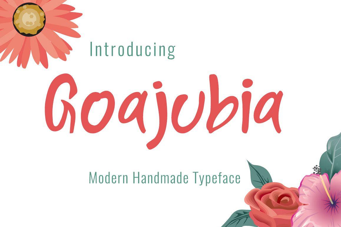 Goajubia Typeface example image 1