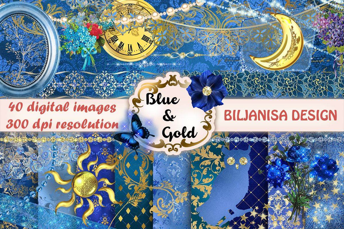 Blue&Gold example image 1