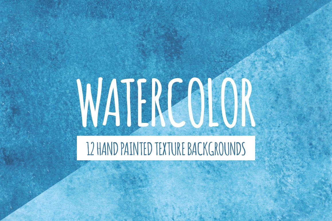 Blue Watercolor Texture Backgrounds example image 1