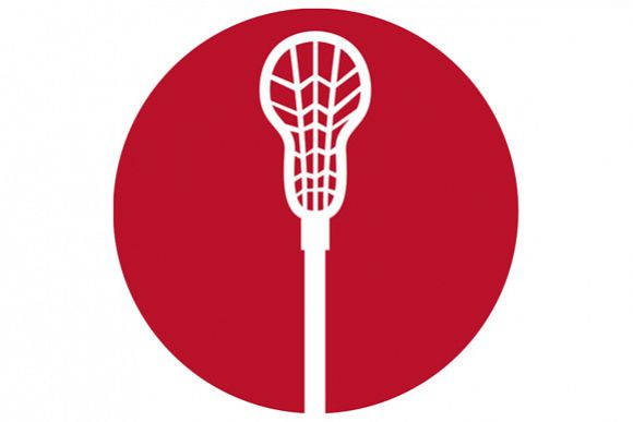 Lacrosse Stick Circle Icon example image 1
