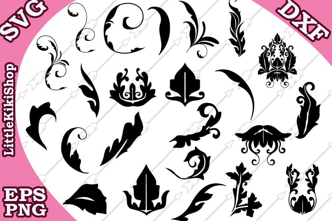 Flourish Svg,Doodles Svg,Swirls Svg,Flourish cut file example image 1