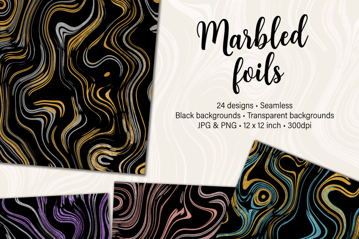 Marbled Foils example image 1