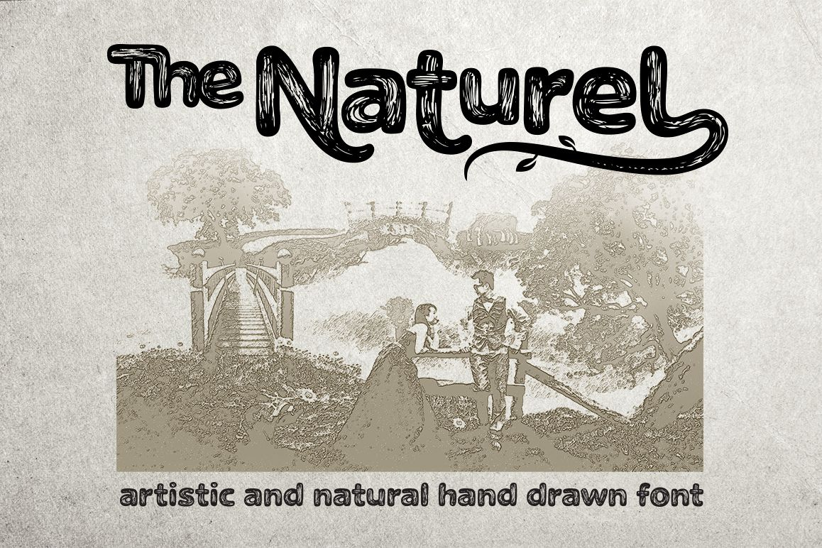The Naturel Font example image
