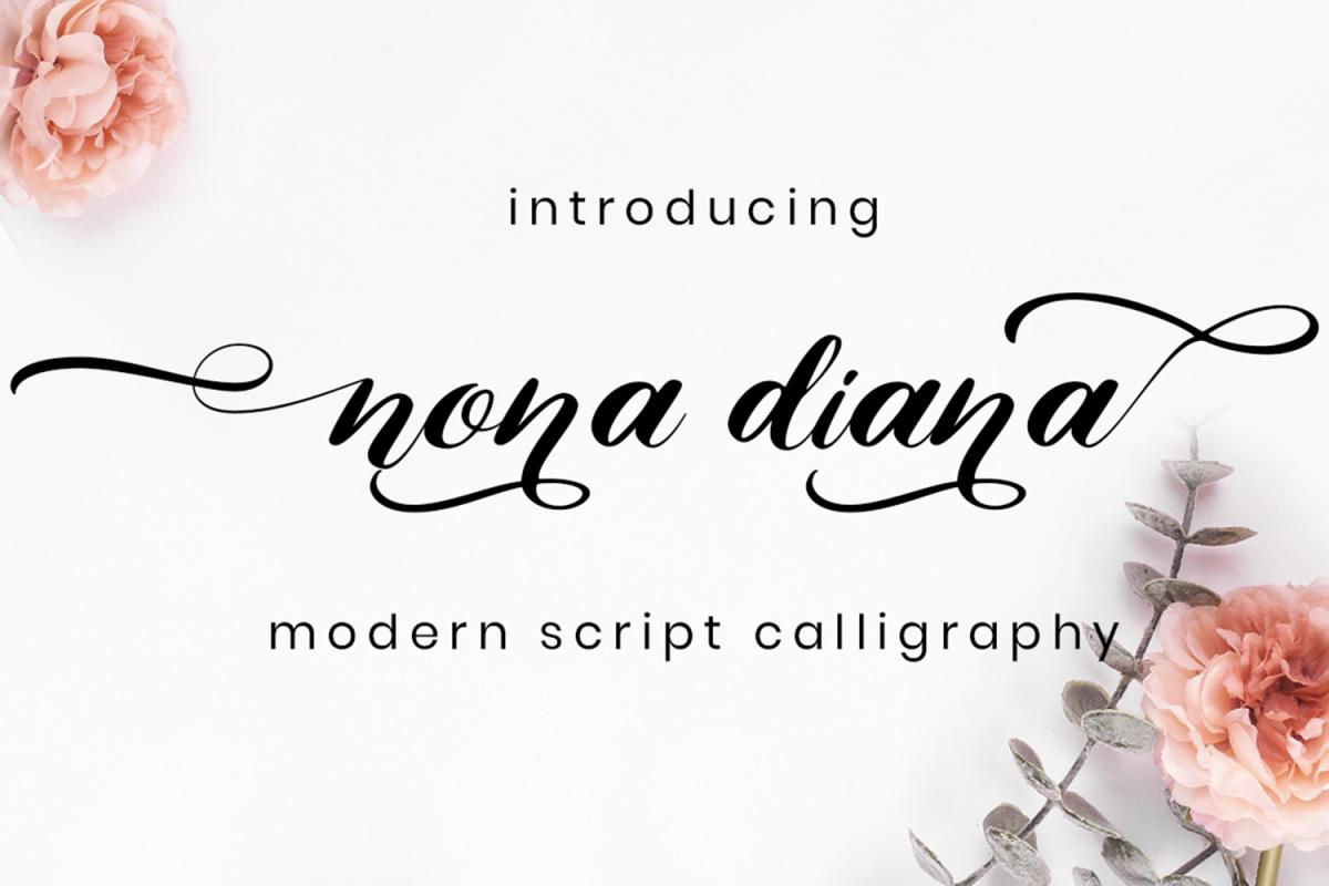 Nona Diana Script example image 1