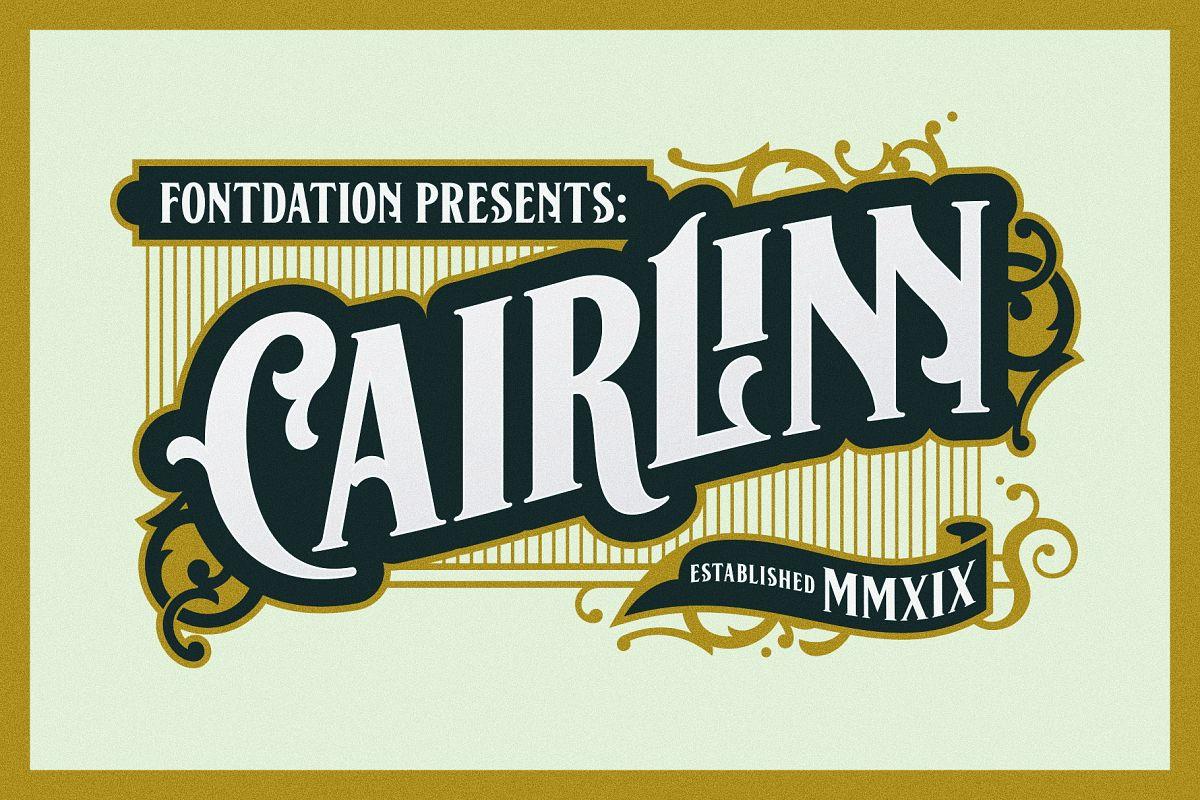 Cairlinn | Vintage Font example image 1