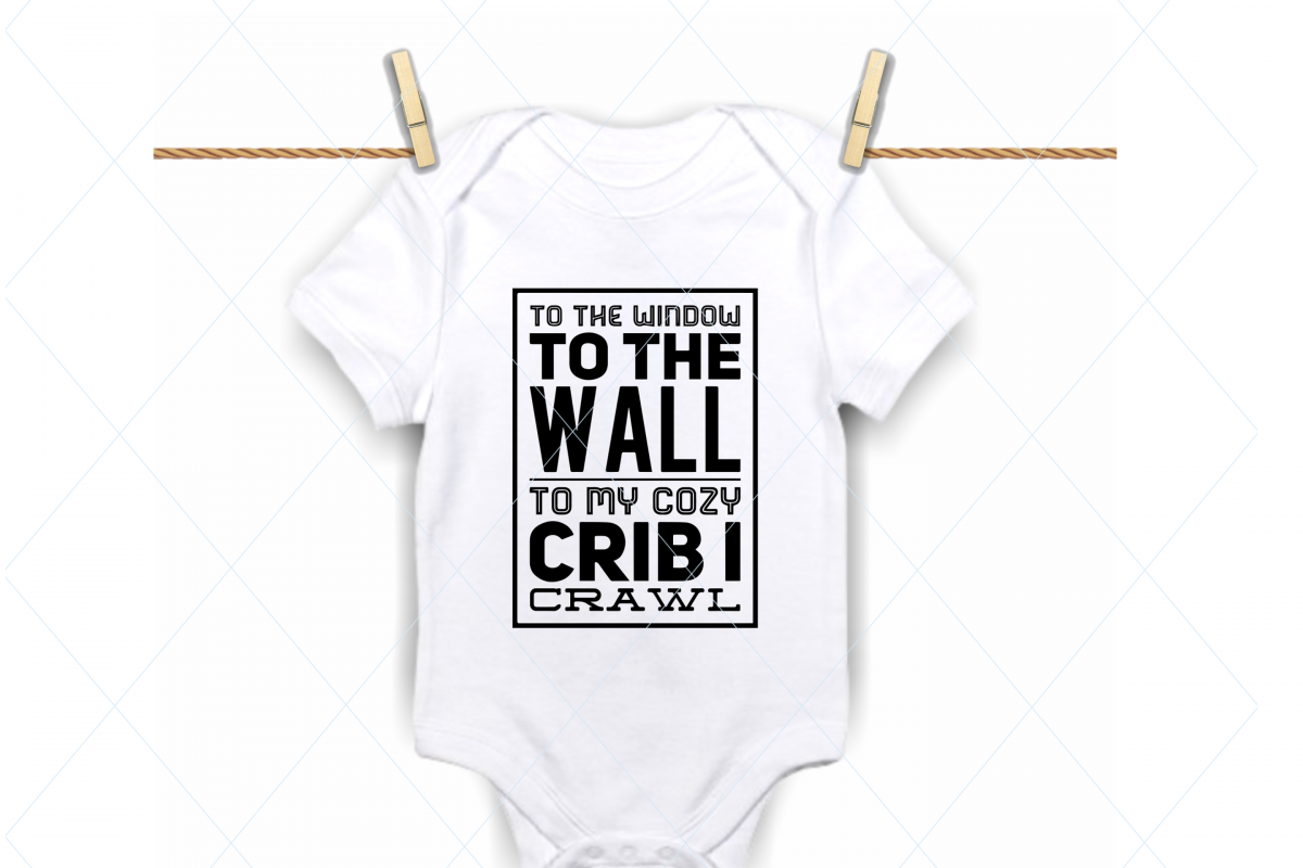 9953059c0d50f Funny baby onesie, newborn baby shower, baby crib cut file