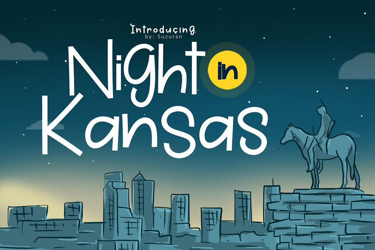 Night in Kansas example image 1