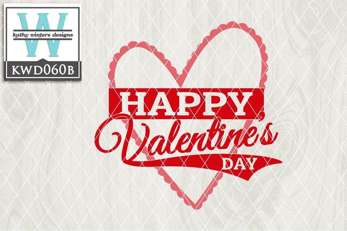 Valentines Cutting File KWD060B example image 1
