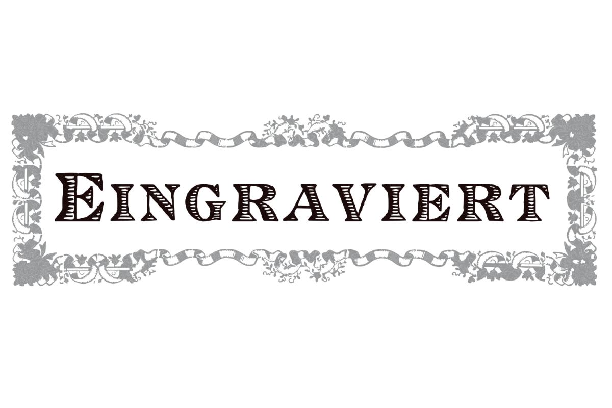 Eingraviert  example image 1