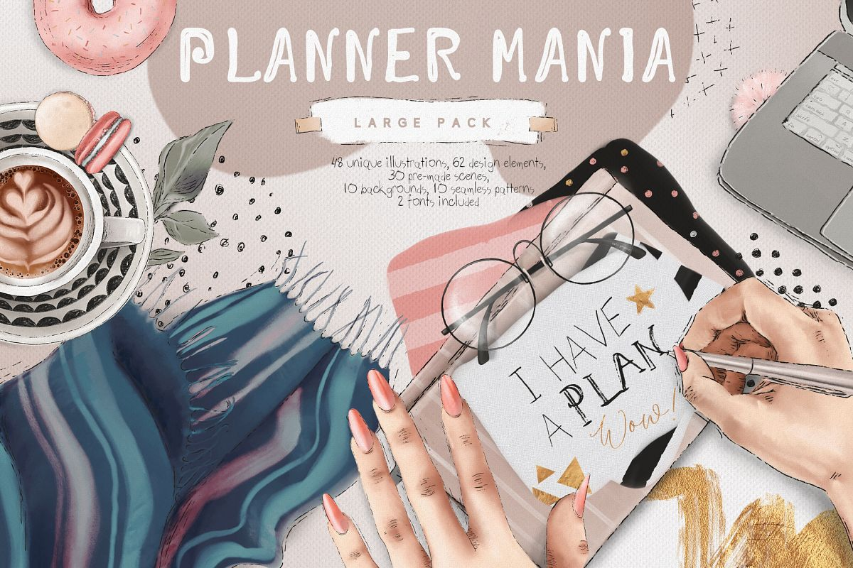 Planner Mania Large Pack example image 1
