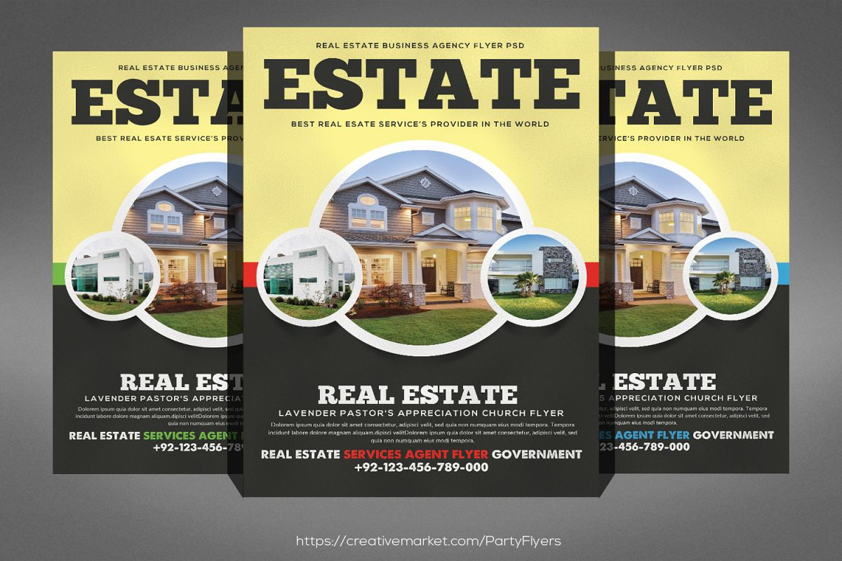 Home Real Estate Flyer example image 1