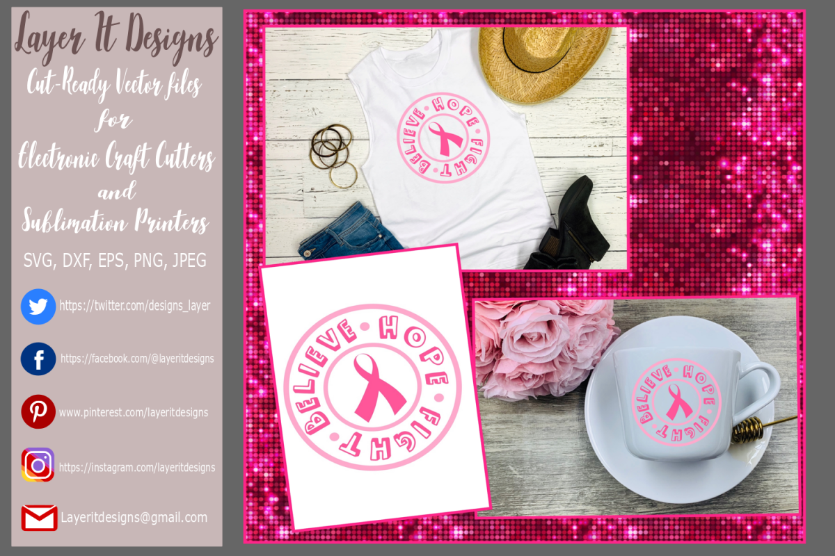 Breast cancer Awareness Design File example image 1