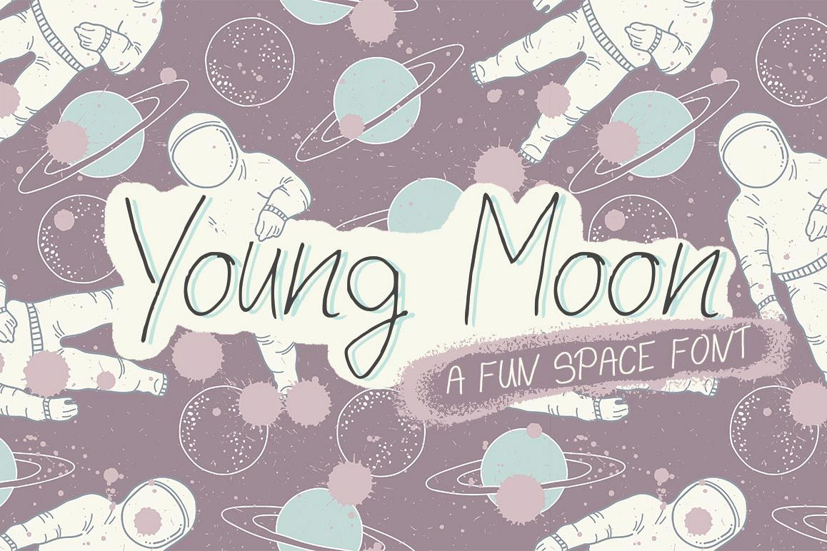 Young Moon Font example image 1