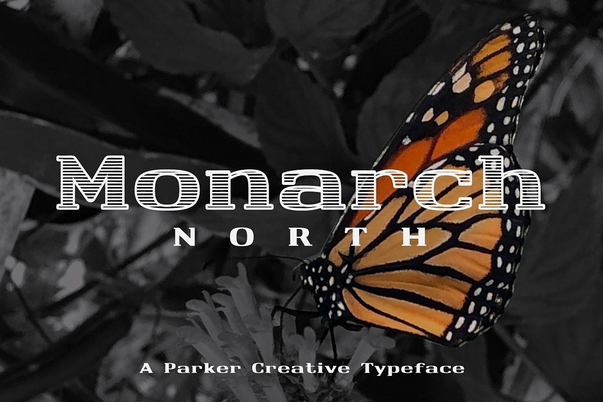 Monarch North Slab Serif example image 1