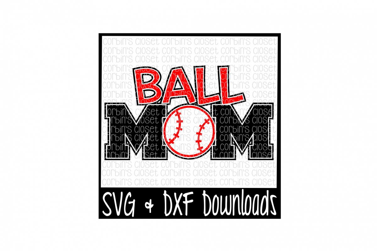 Ball Mom Cut File example image 1