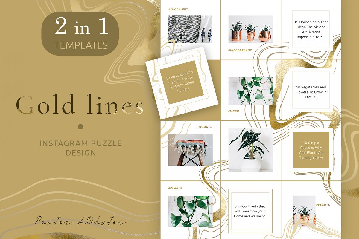 Female Business Instagram Templates example image 1