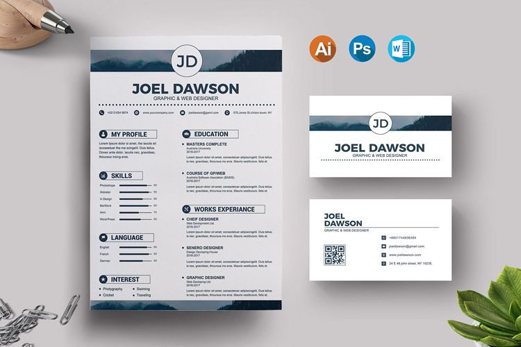 Resume Templates example image 1