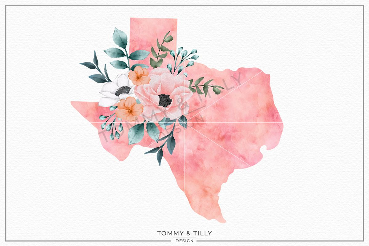 Texas State - Sublimation | PNG | Clipart example image 1