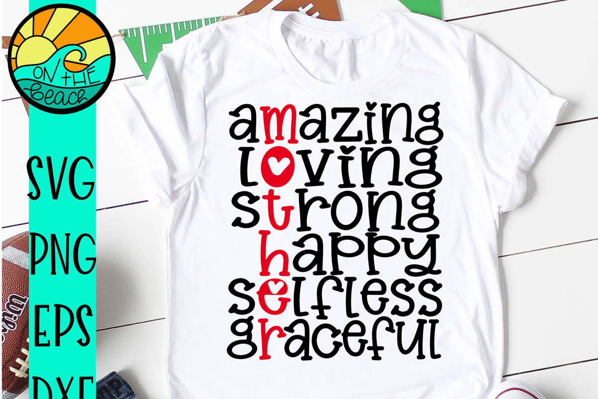 Mother - Amazing - Loving - Strong -Happy -Selfless-Graceful example image 1