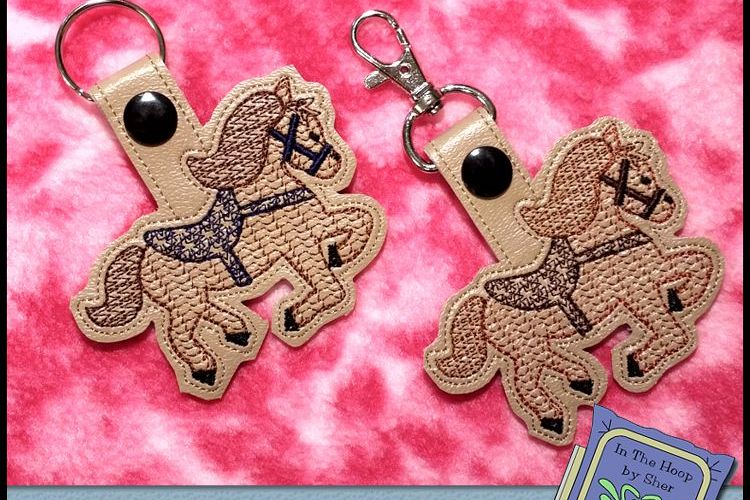 Viewing Product. ITH Horse Key Fob ... 92abcf965