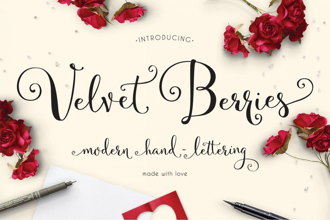 VelvetBerries example image 1