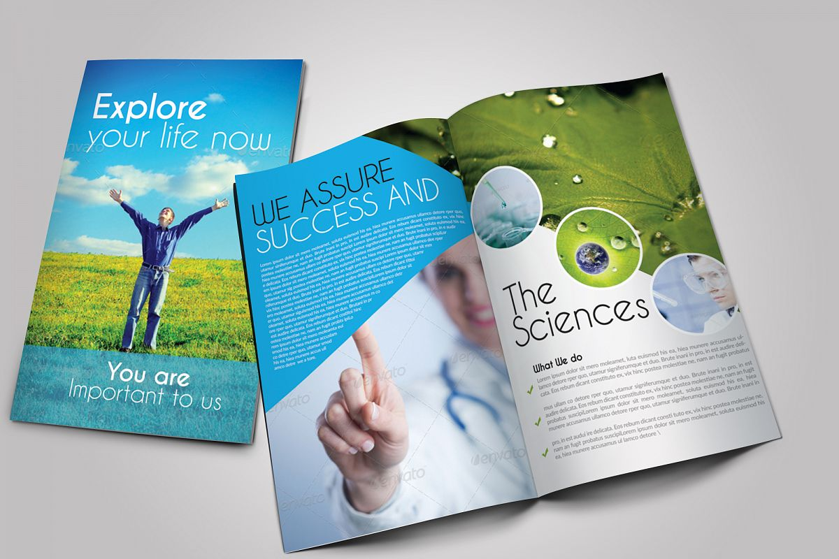 Medical Science Bifold Brochure example image 1