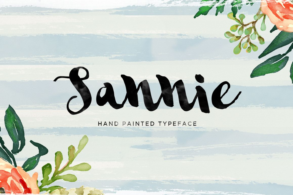 Sannie Typeface example image 1