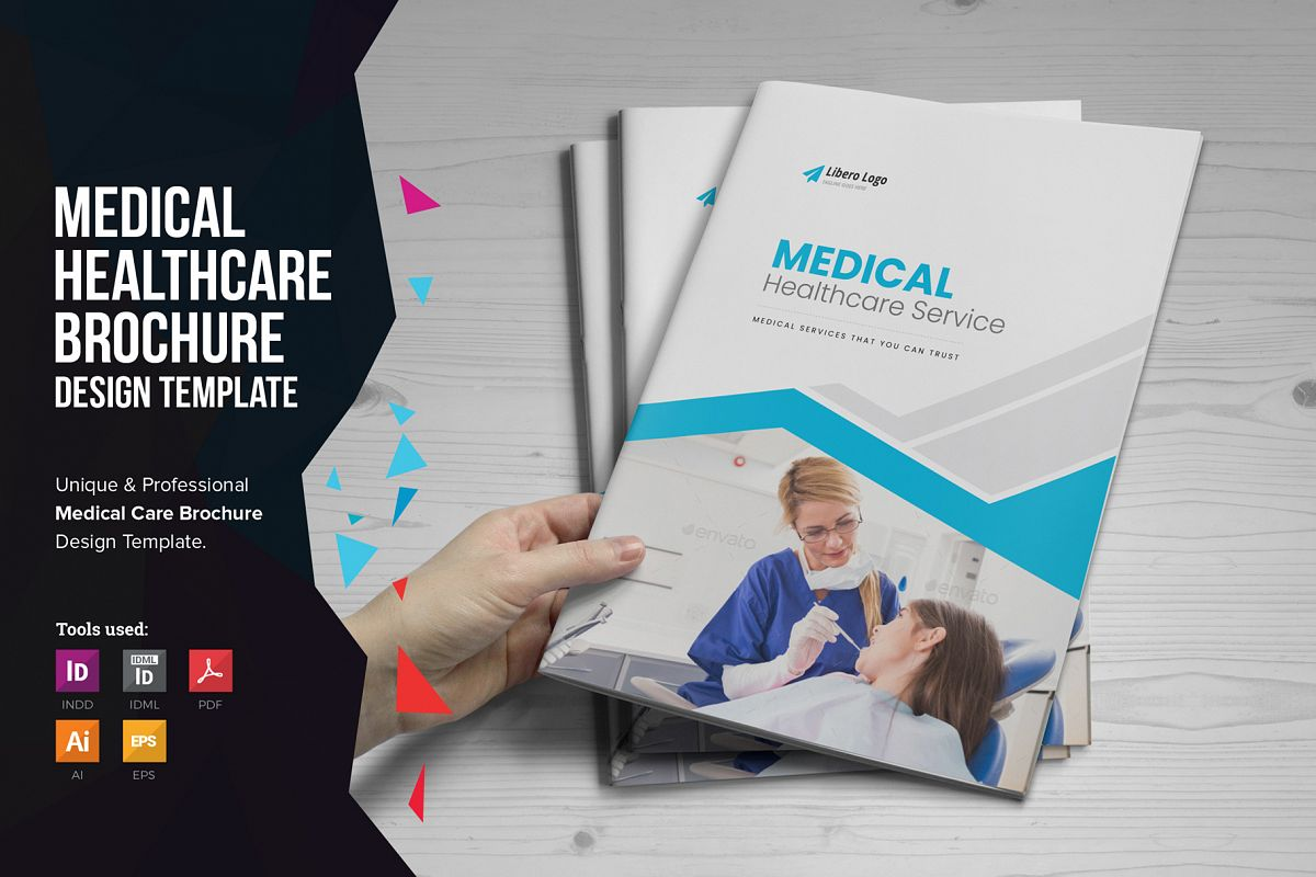 Medical HealthCare Brochure v6 example image 1