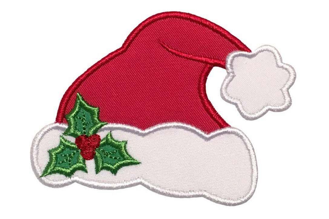 ed533b073af Santa Hat Machine Embroidery Applique Design. example image 1